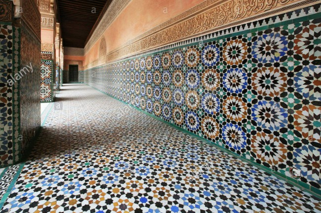 tile-mosaic-detail-at-the-ben-youssef-medersa-islamic-school-attached-B8JRR1.jpg
